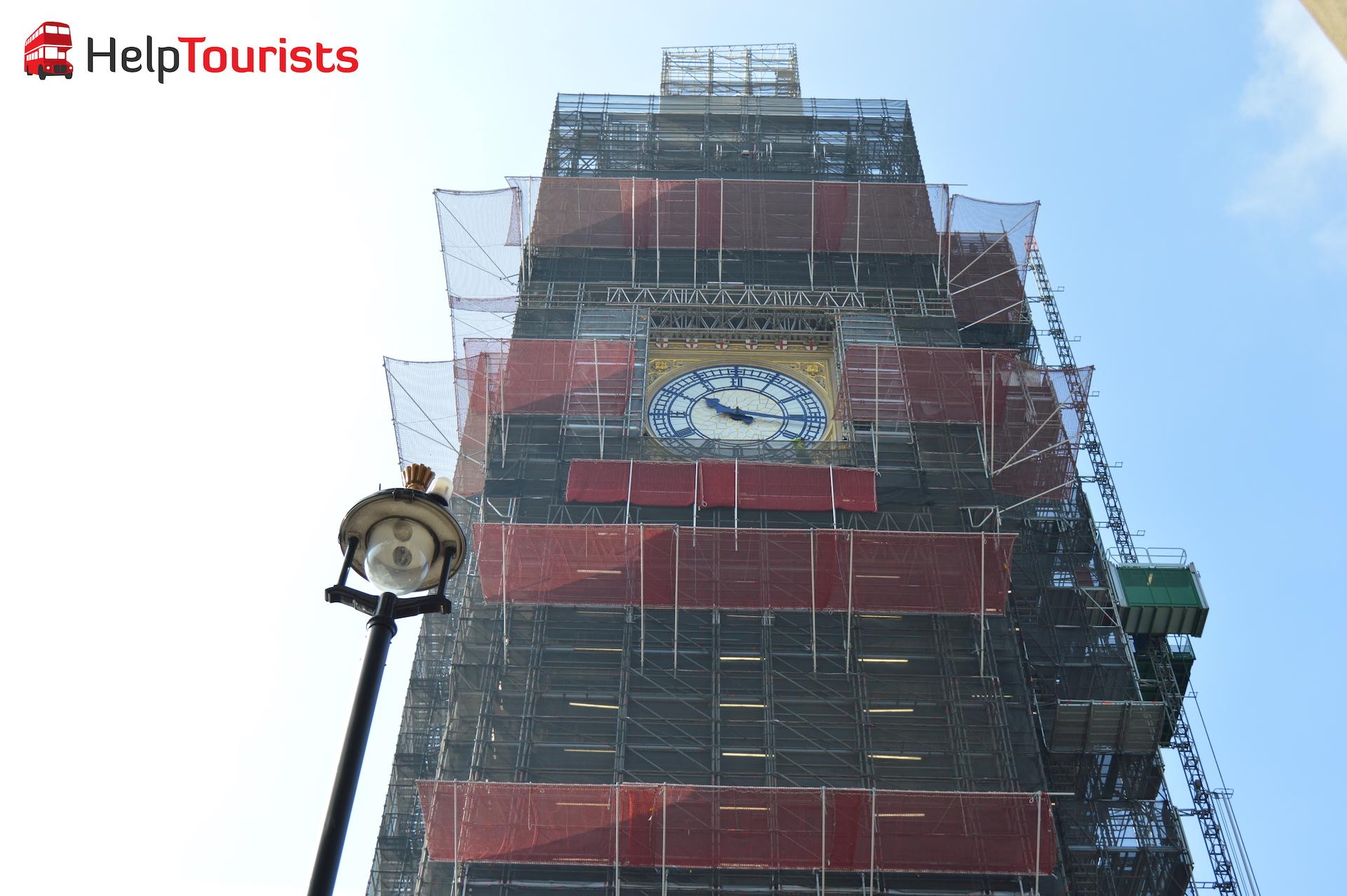 Renovierungsarbeiten Elizabeth Tower