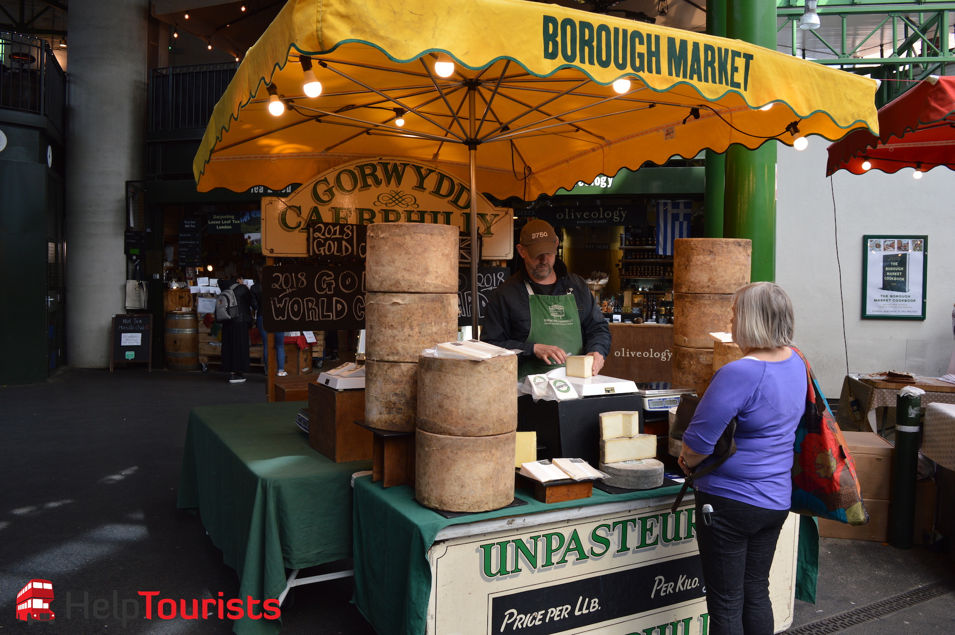 Borough Market London englischer Käse