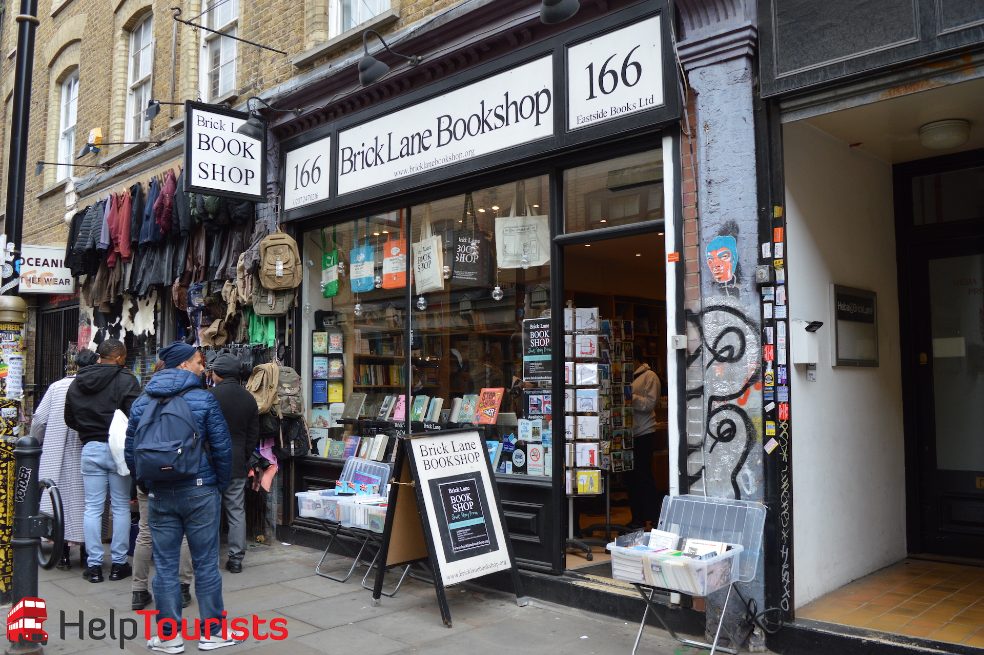 Brick Lane Bookshop Vintage London