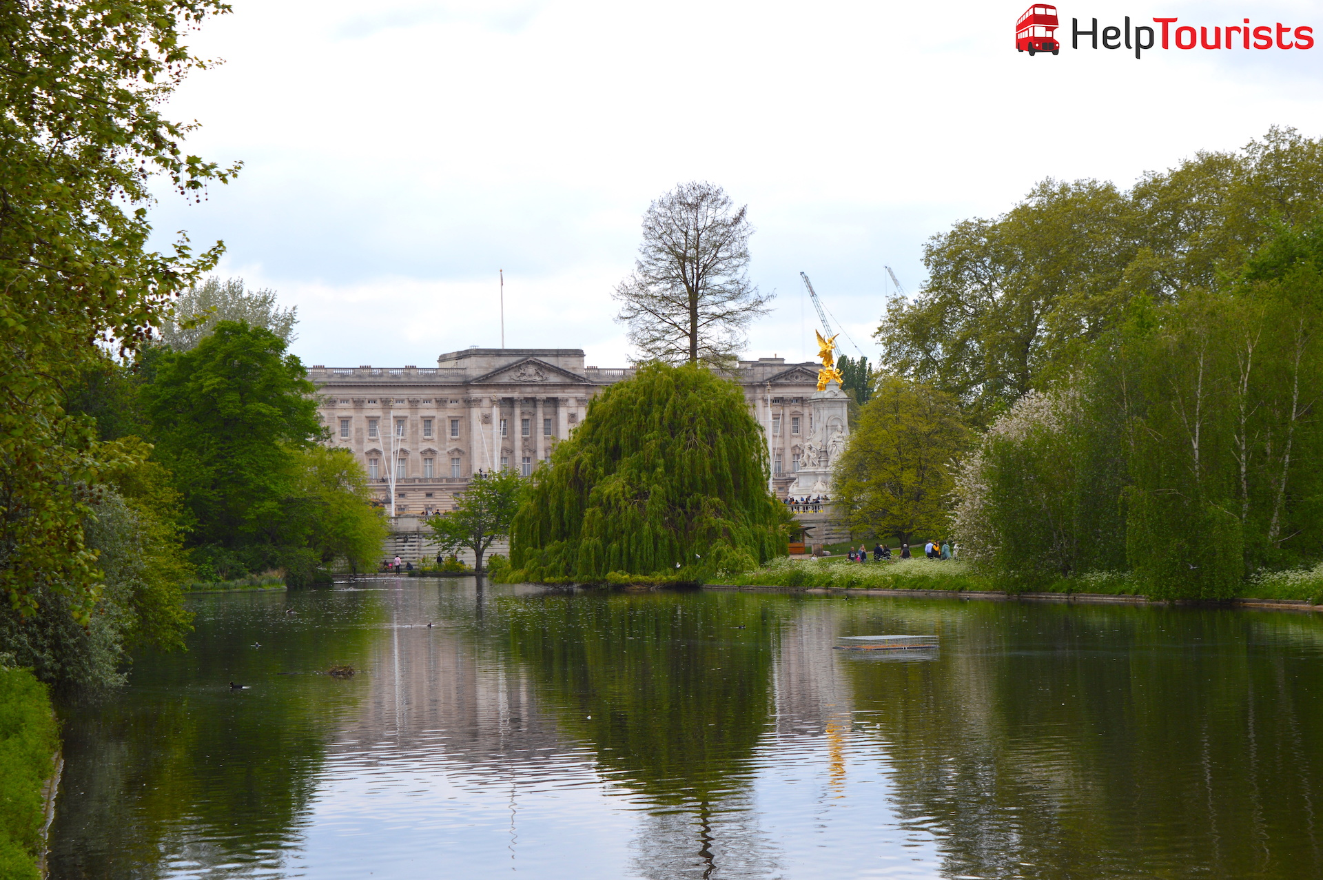Buckingham Palace und St James's Park London