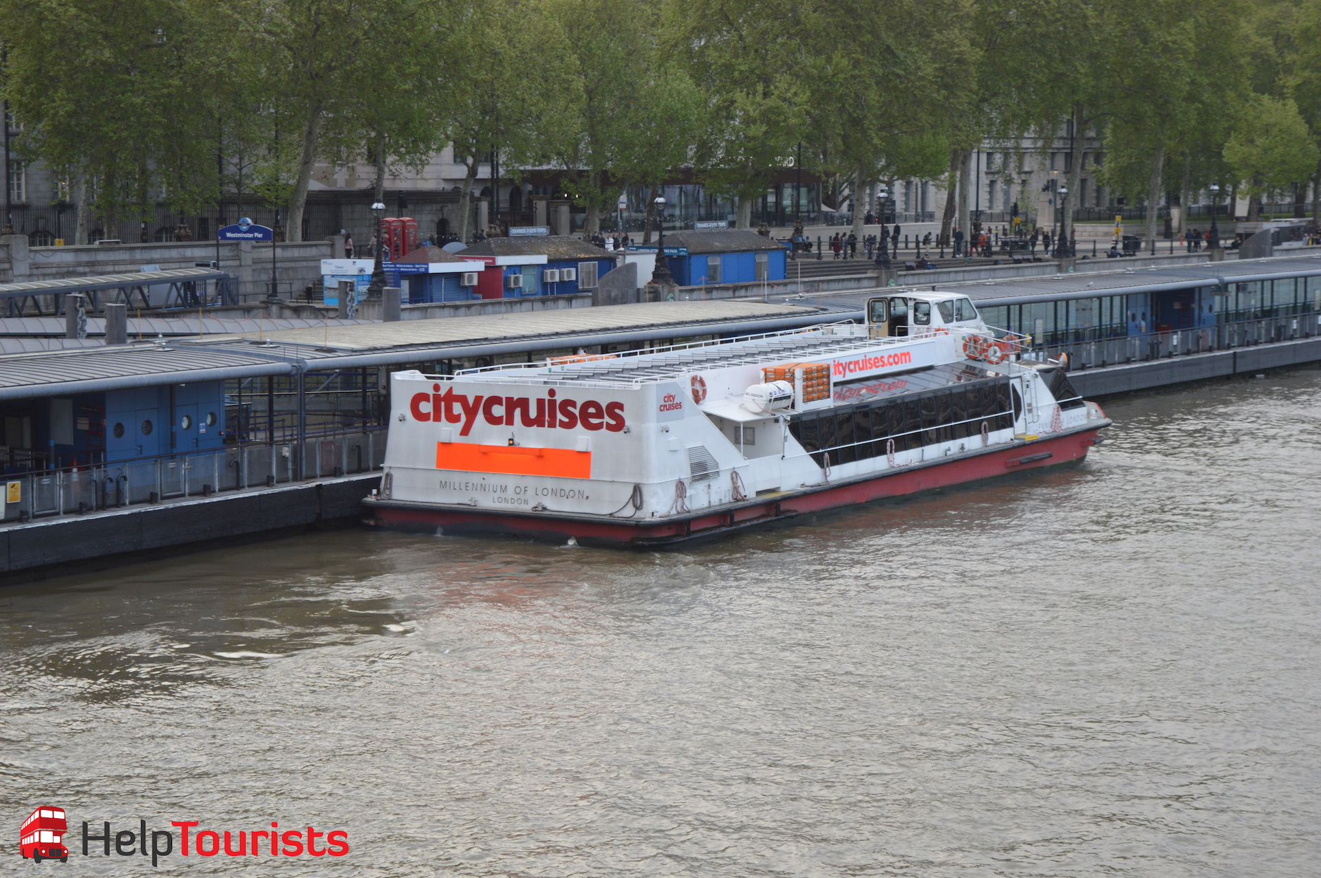 City Cruises Bootsfahrt Westminster Pier