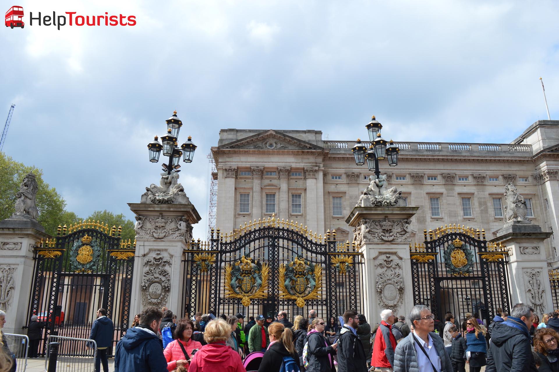 Eingangstor Buckingham Palace London