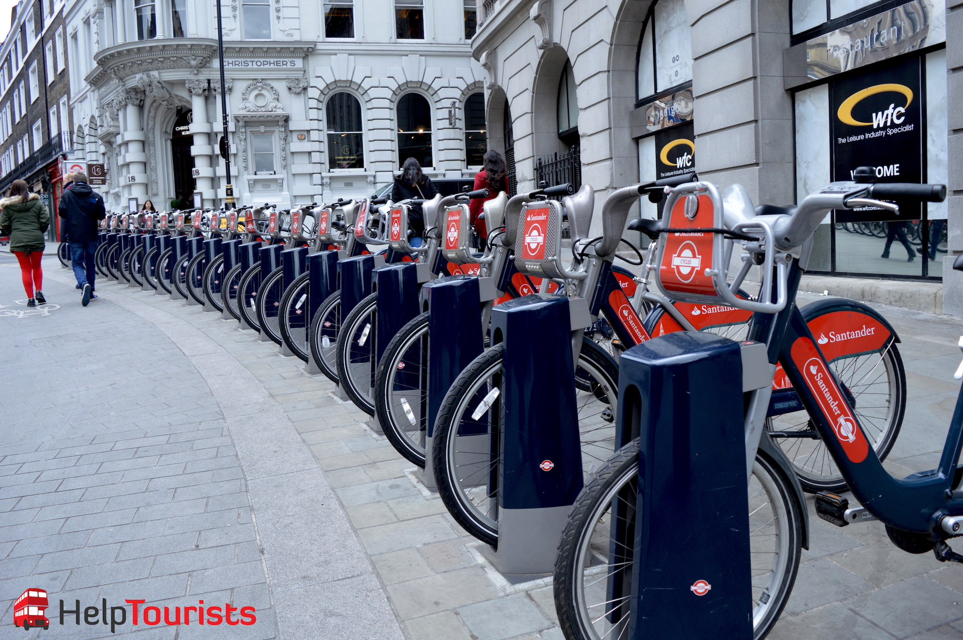 Fahrrad ausleihen Santander in London