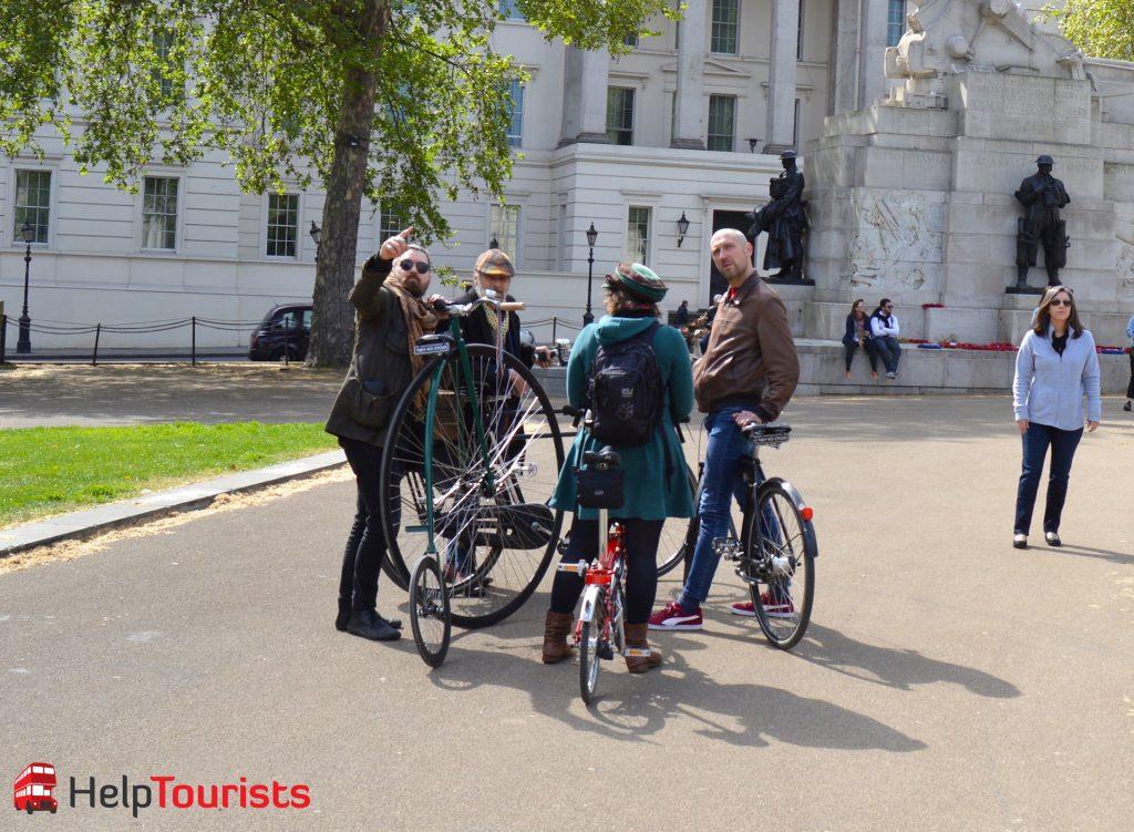 Geführte Fahrradtour Oldtimer London