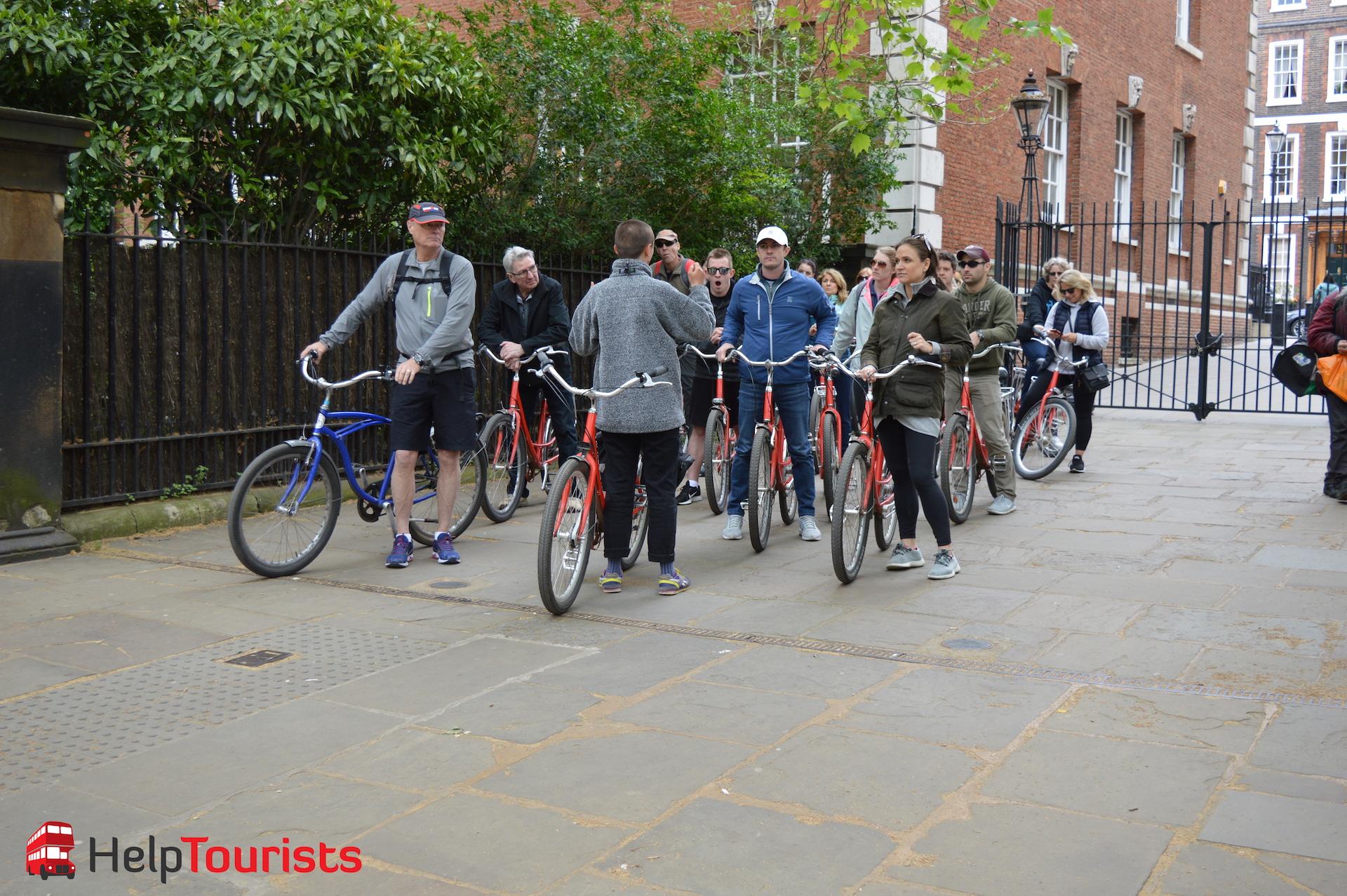 Geführte Fahrradtour durch London