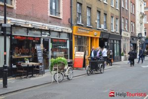 Geschäfte in Soho London