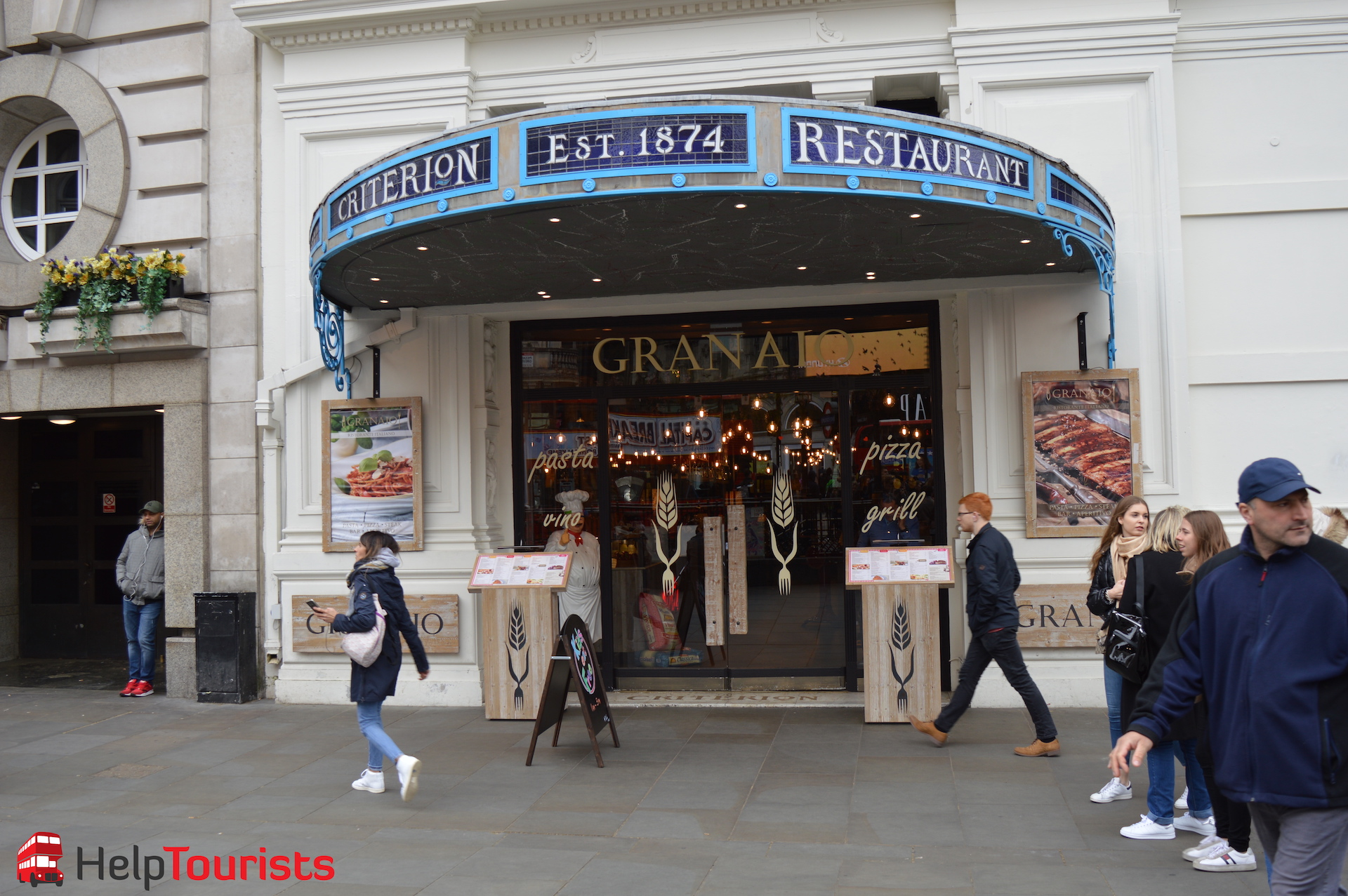 Griechisches Restaurant Piccadilly Circus London