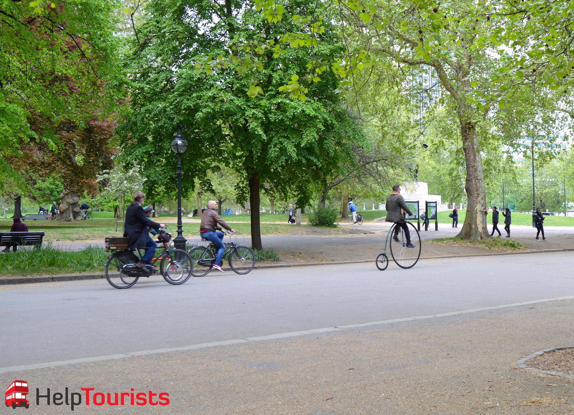 Hyde Park London Fahrradtour