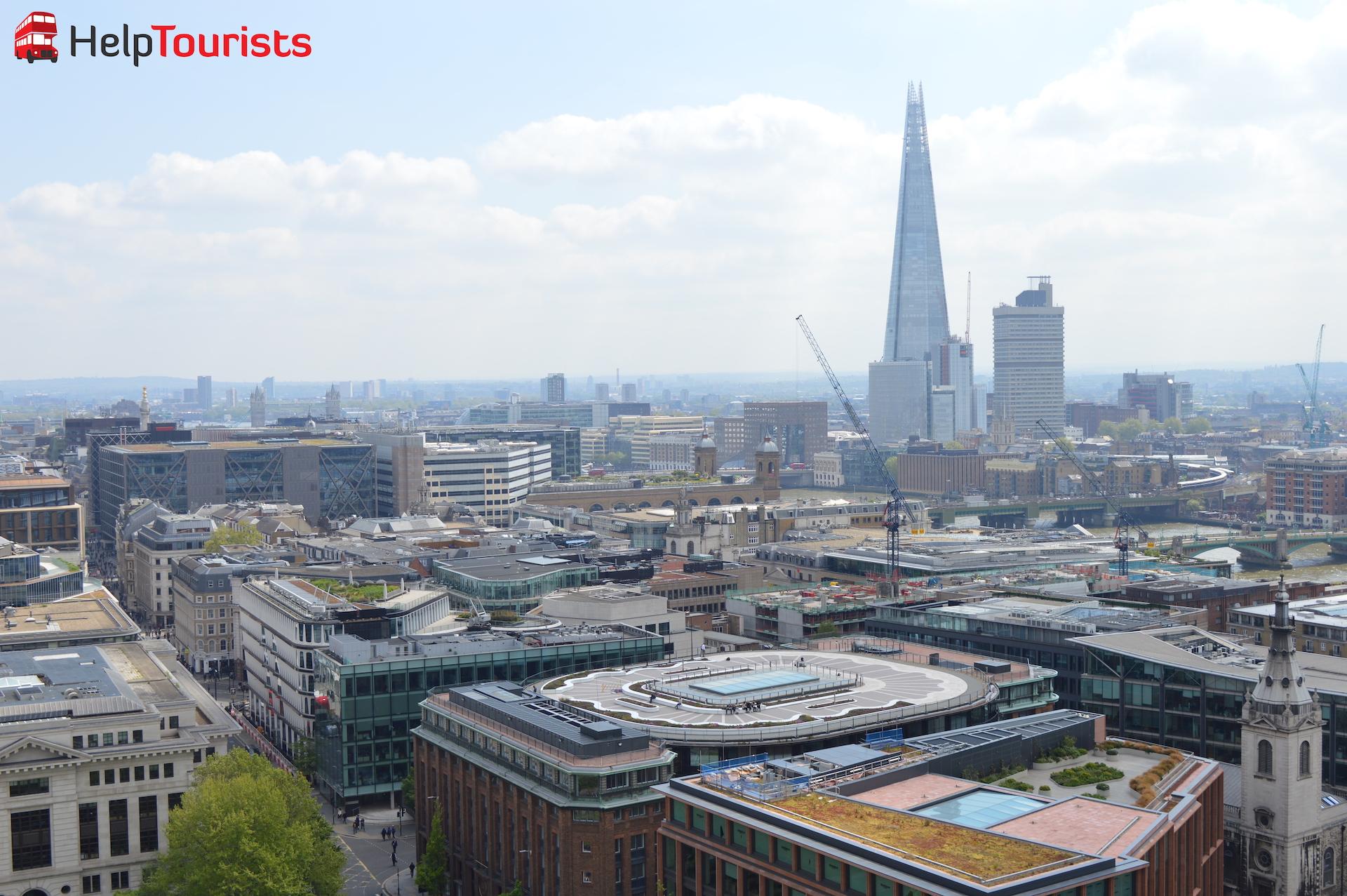 London Ausblick St Paul's Kathedrale