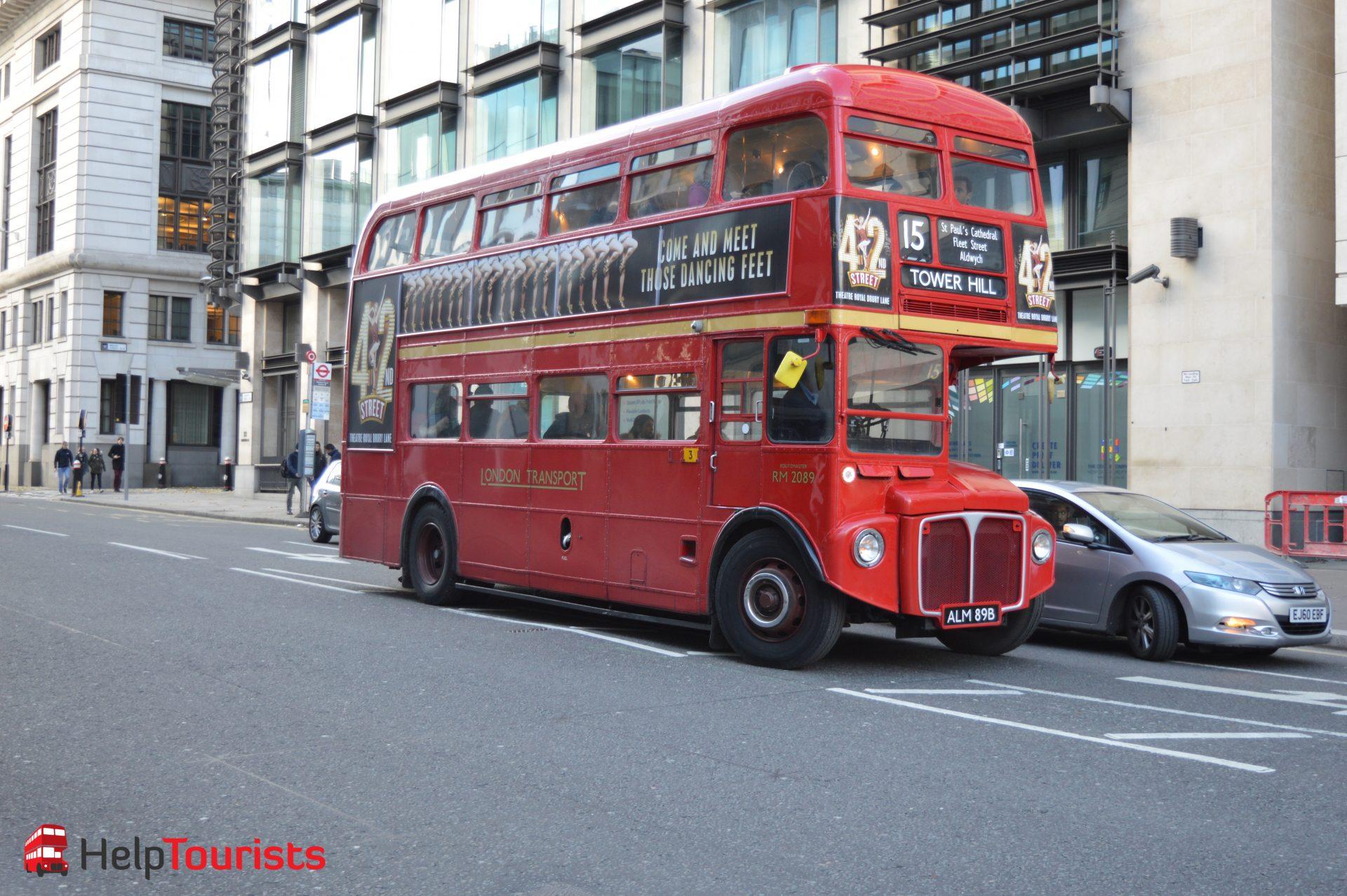 London Doppeldeckerbus (öffentliche Verkehrsmittel)