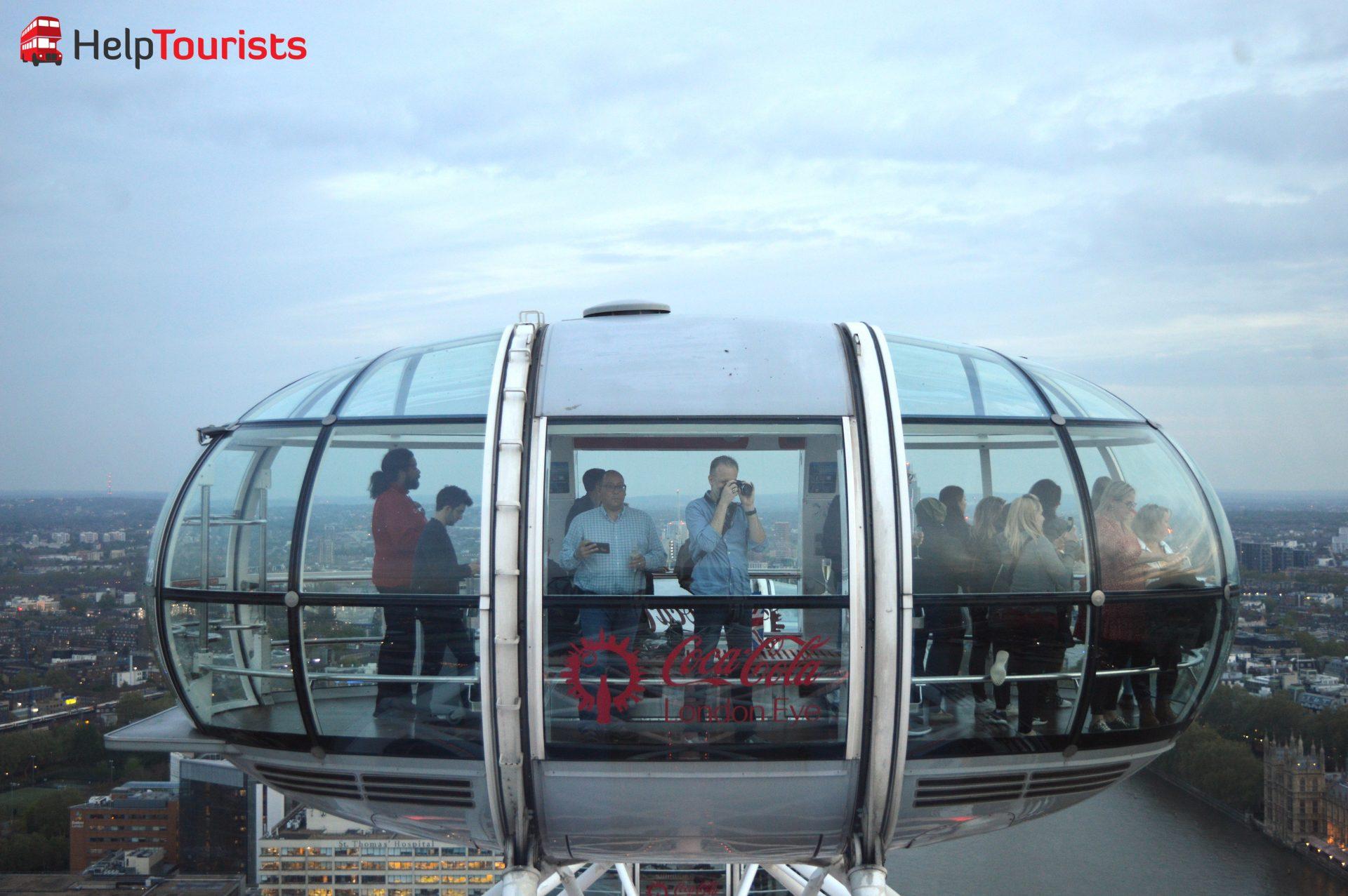London Eye Gondel Riesenrad