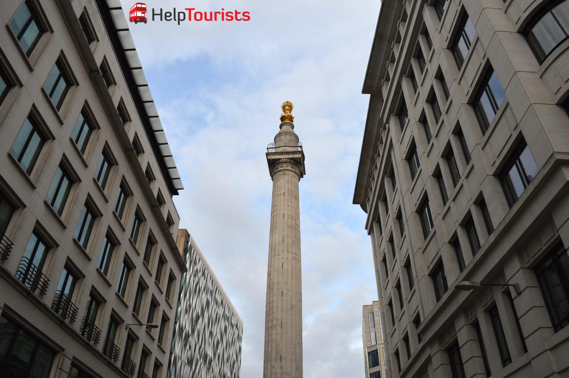 London Großes Feuer Monument