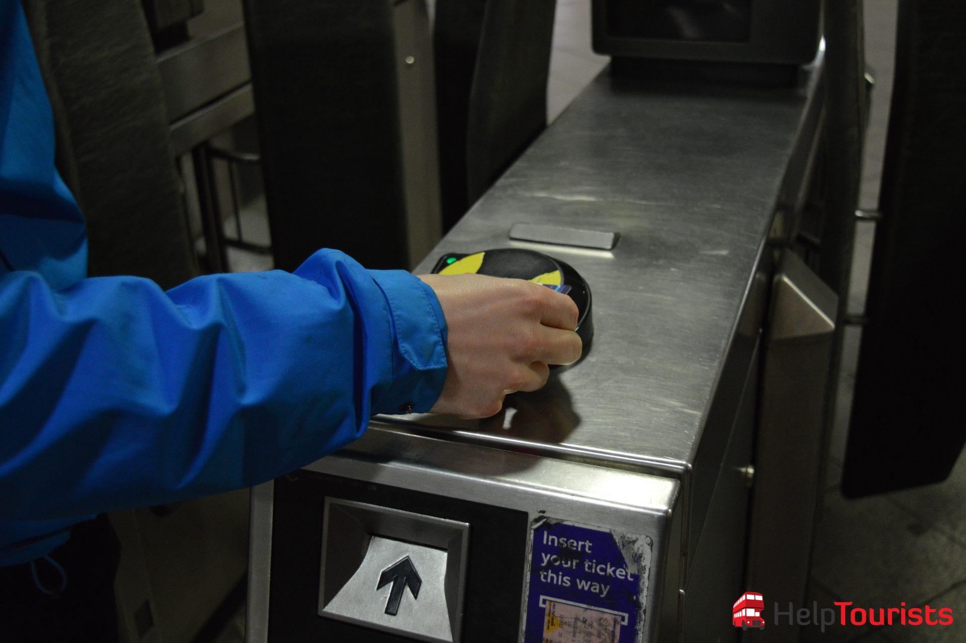 London U-Bahn Ticketentwertung