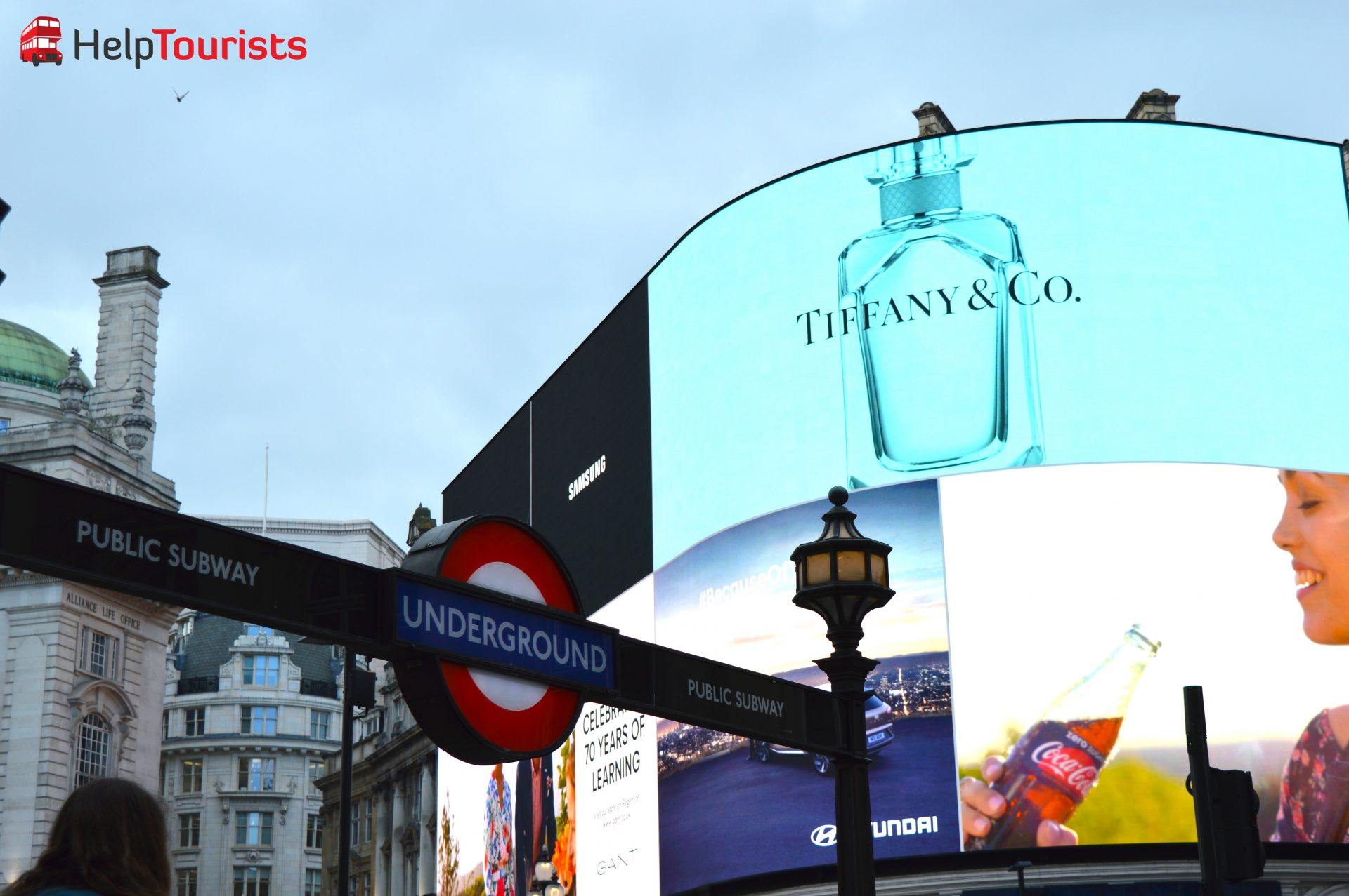 London Underground am Piccadilly Circus