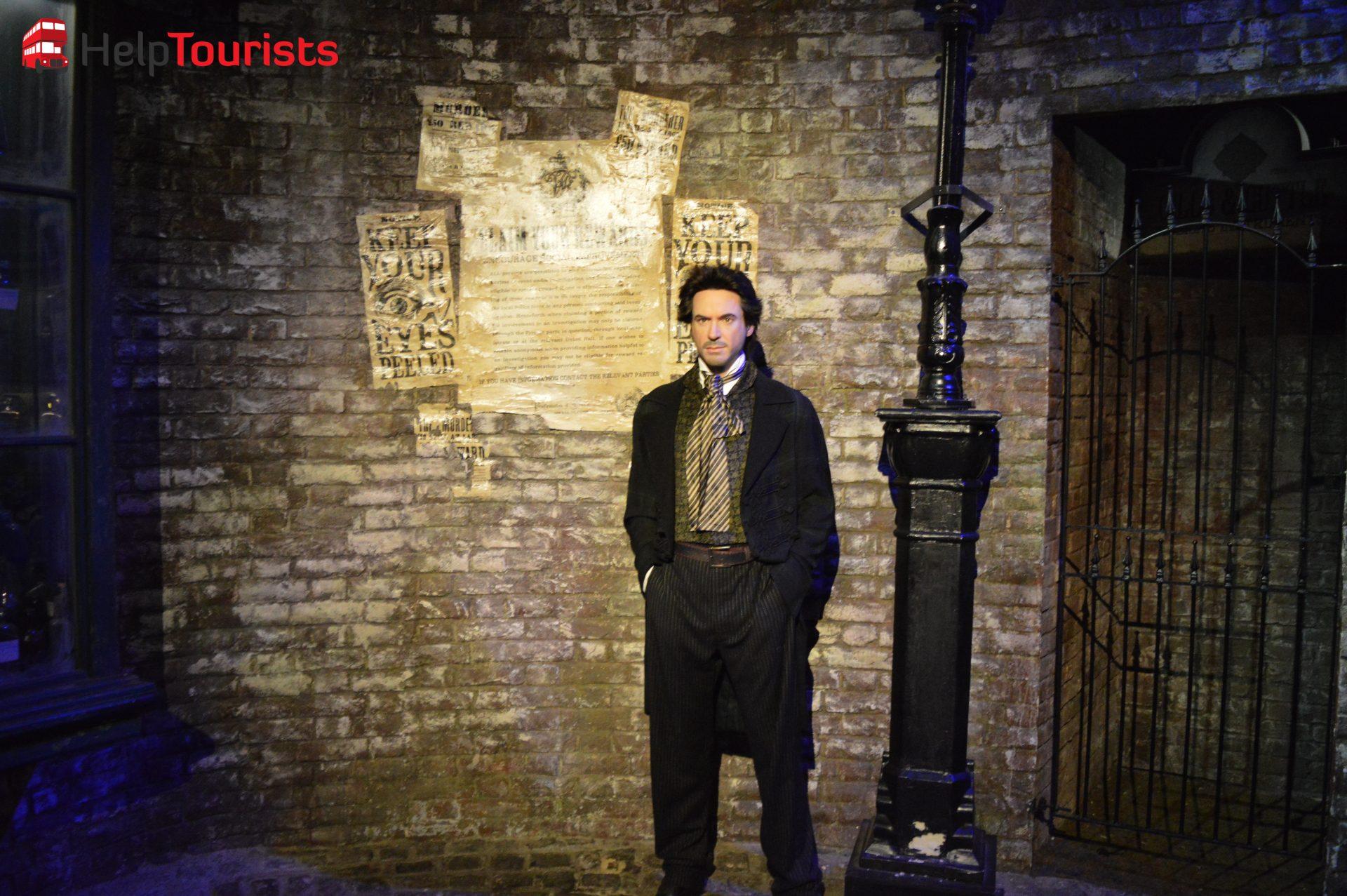 Madame Tussaud's London Sherlock Holmes
