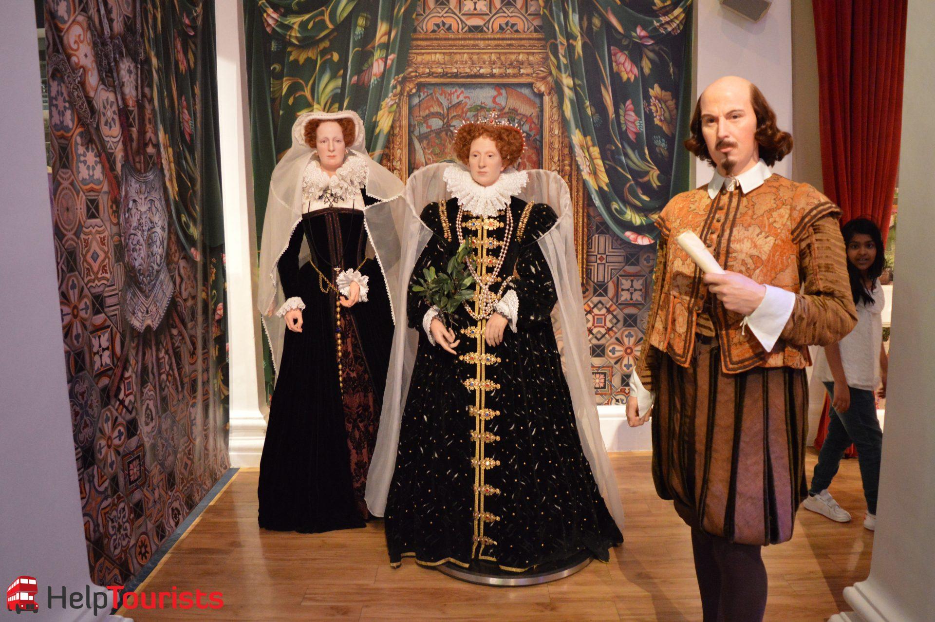Madame Tussaud's London englische Könige