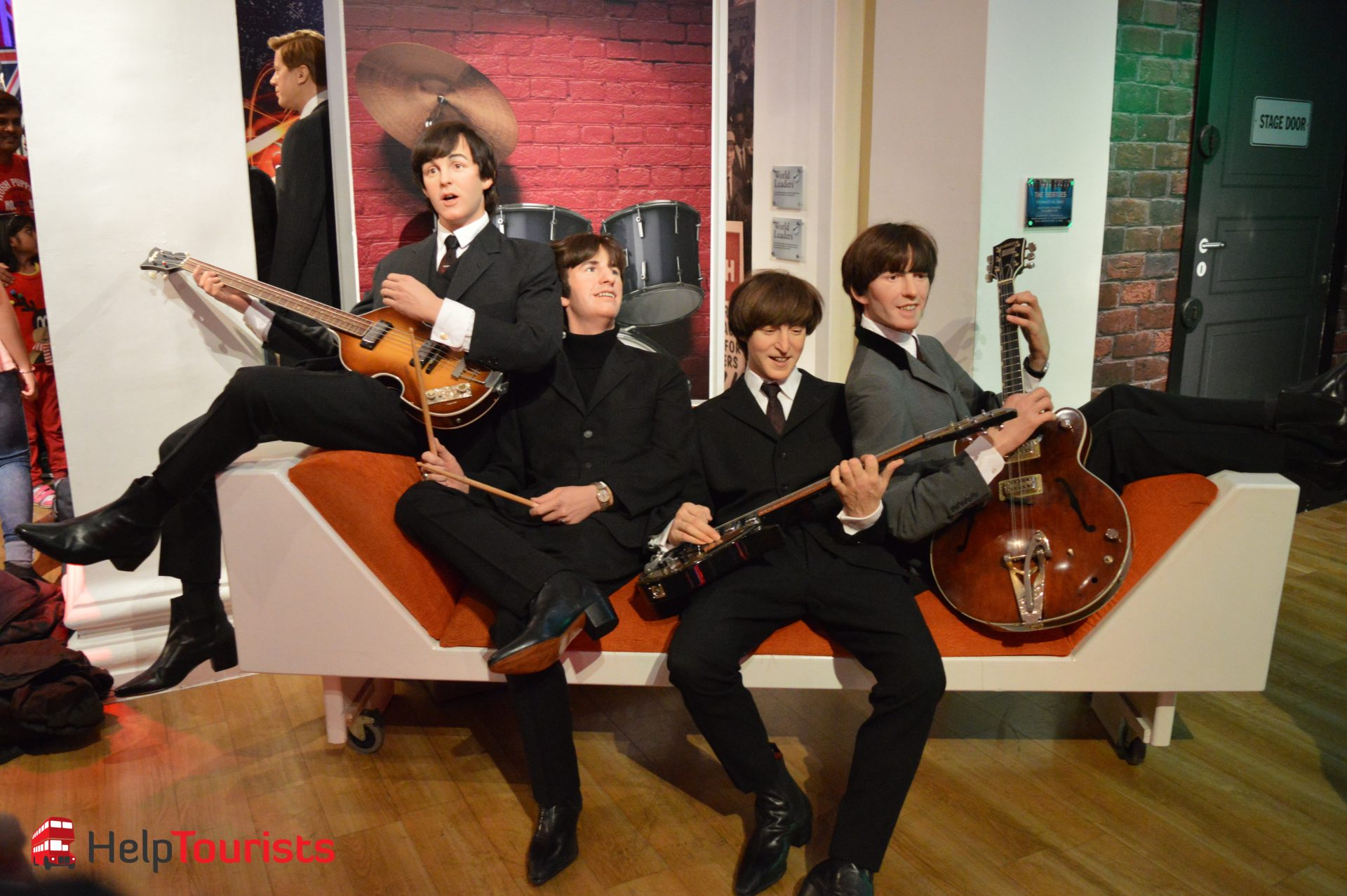 Madame Tussaud's London the Beatles