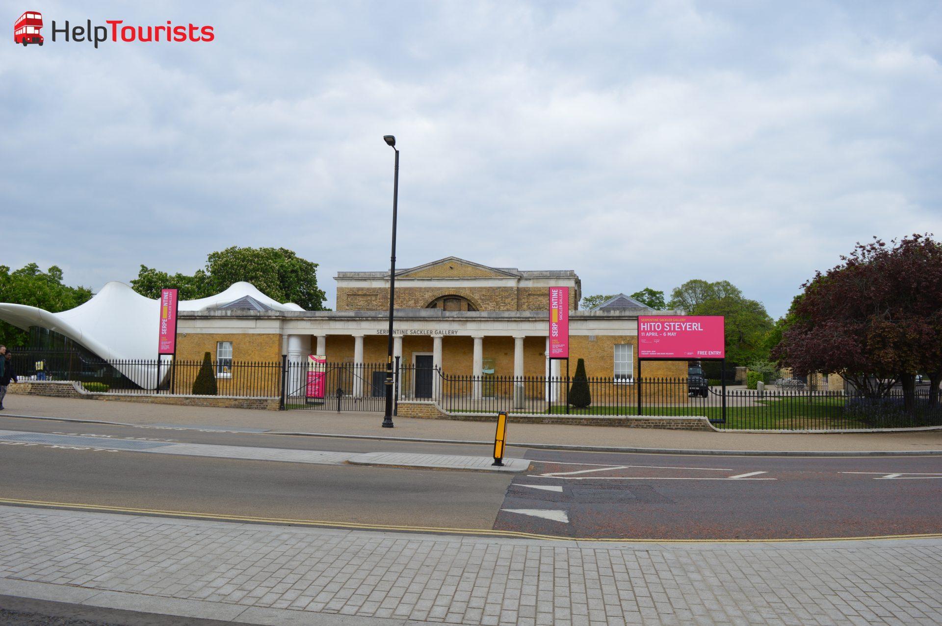 Serpentine Sackler Gallery London Hyde Park