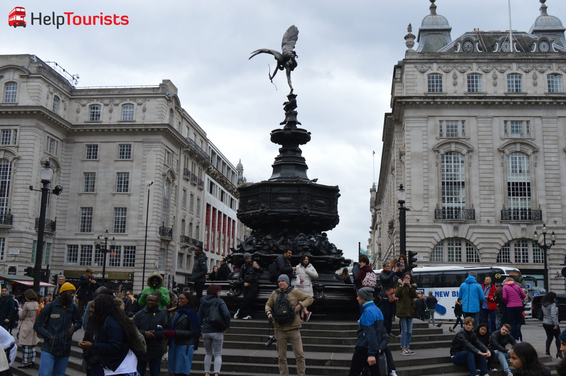 Shaftesbury Memorial Fountain Piccadilly London