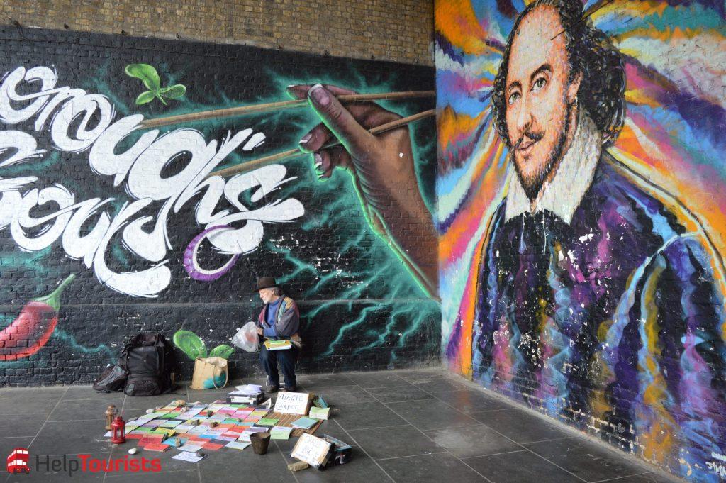 Shakespeare Graffitti in London