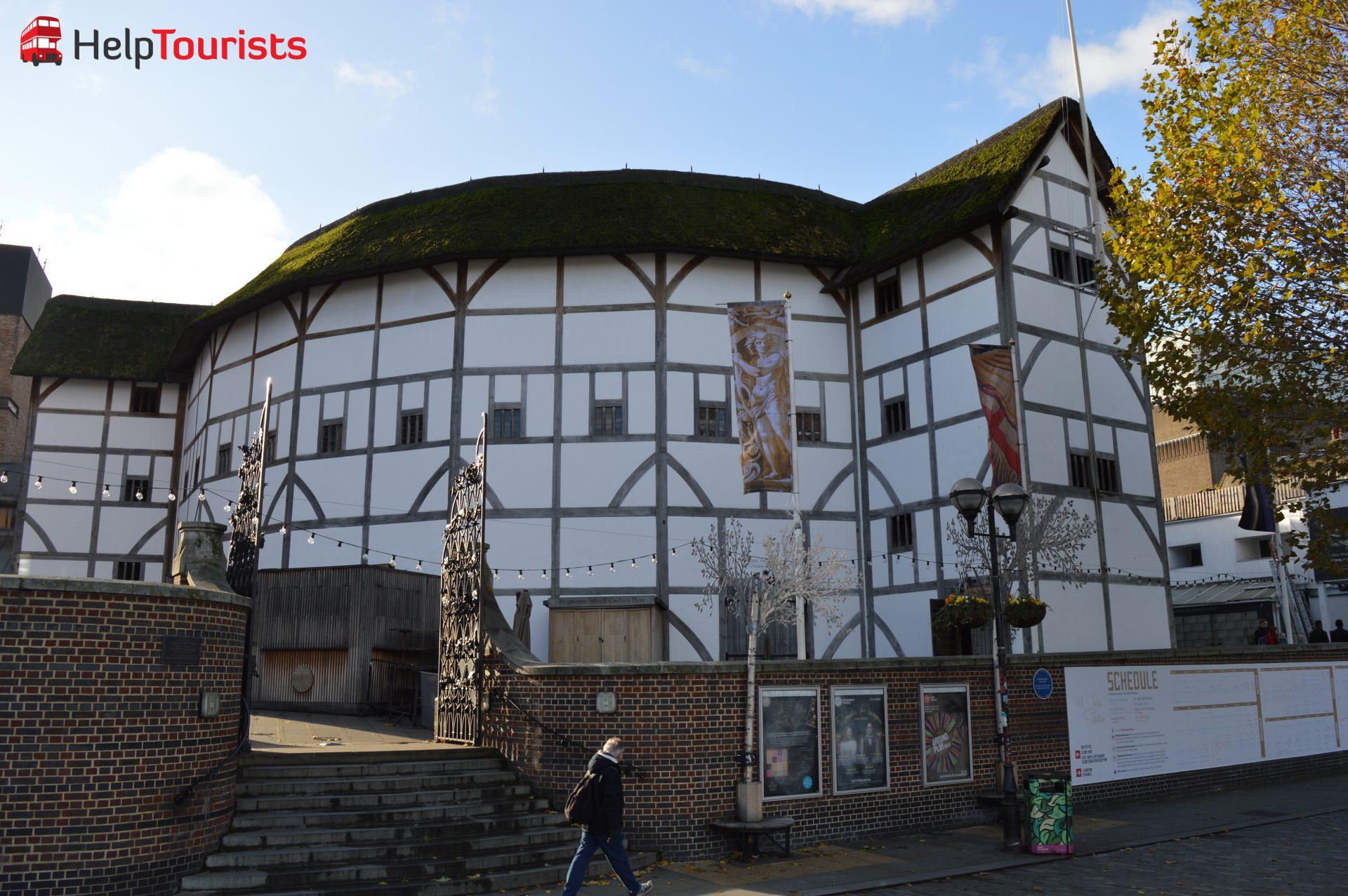 Shakespeare's Globe in London Southwark