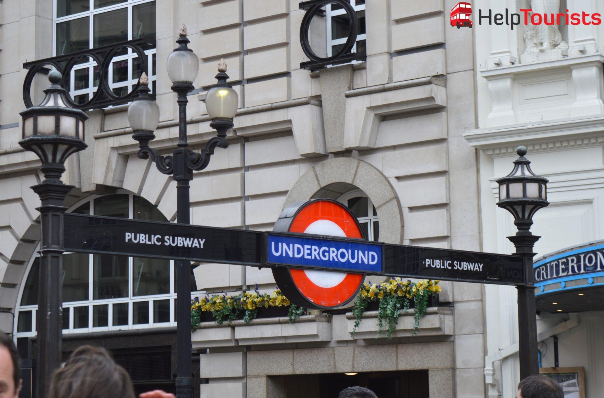 Underground London  (öffentliche Verkehrsmittel)