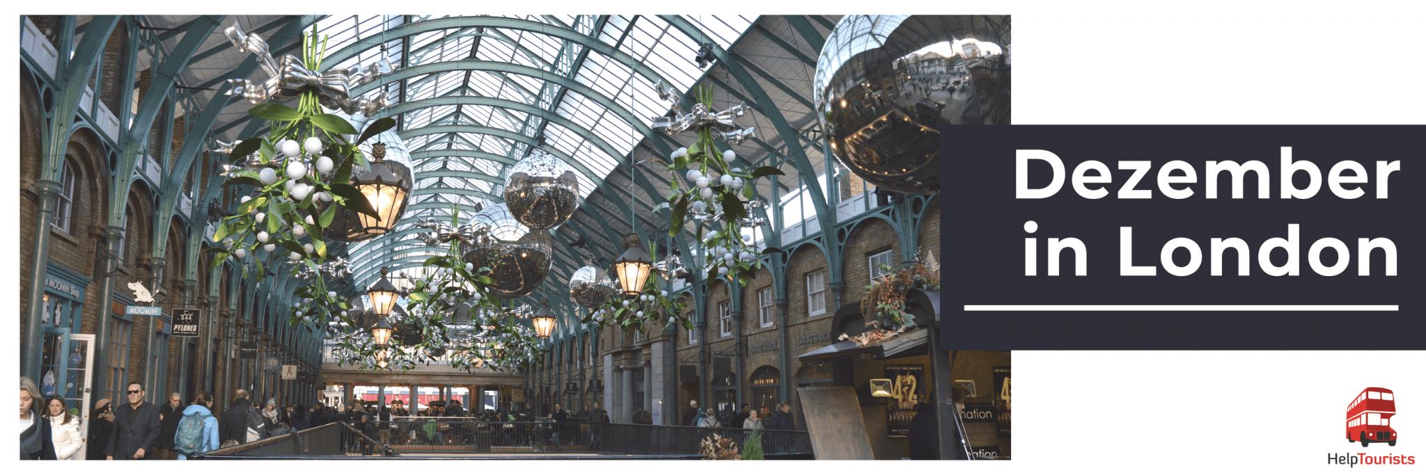 Veranstaltungen im Dezember in London