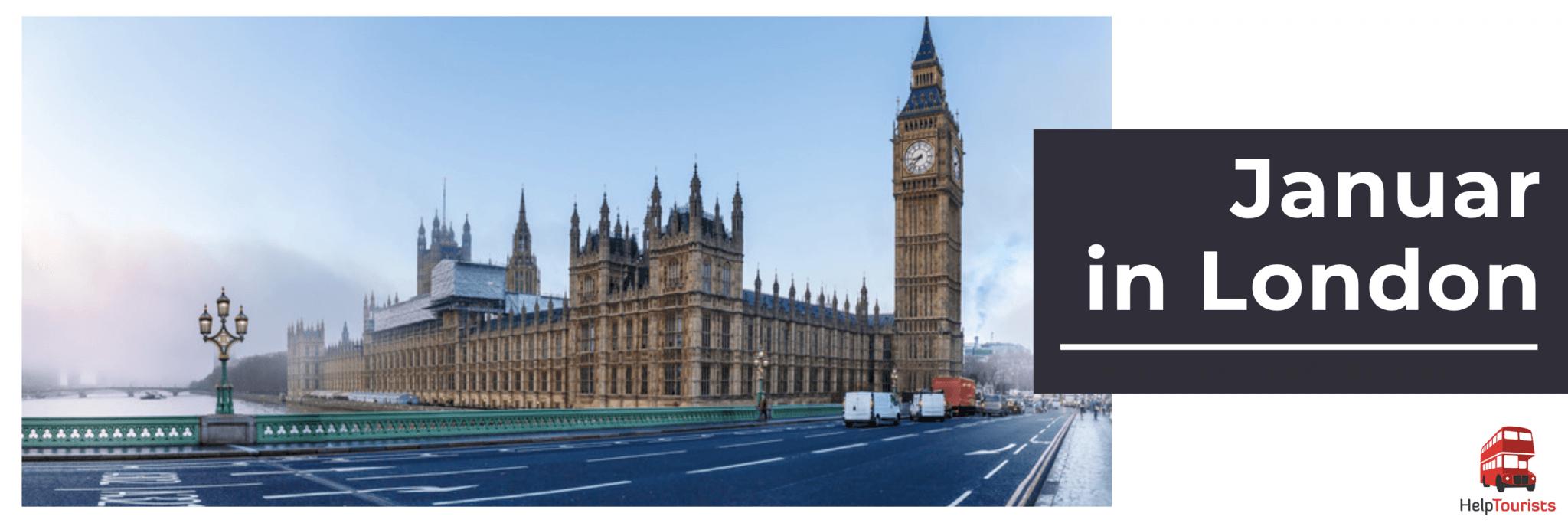 Veranstaltungen im Januar in London