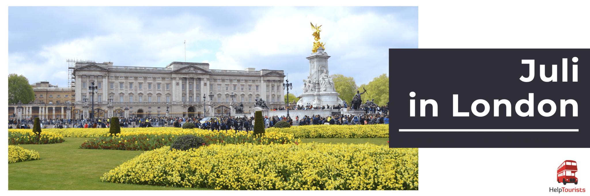 Veranstaltungen im Juli in London