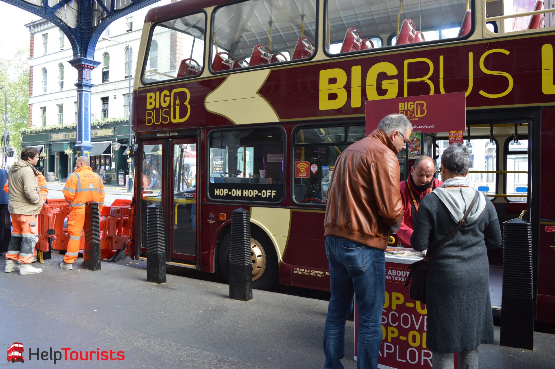 Victoria Station Big Bus Tickets Hop on hop off