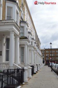 Viertel Chelsea in London
