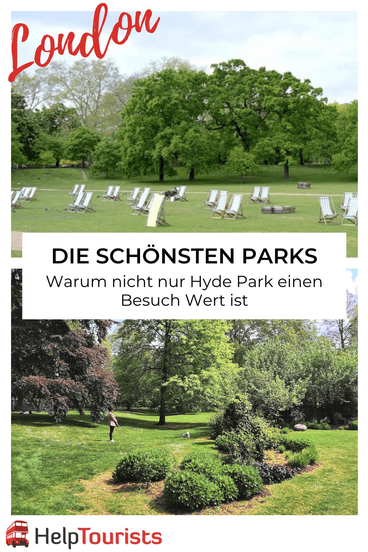 Die schönsten Parks in London