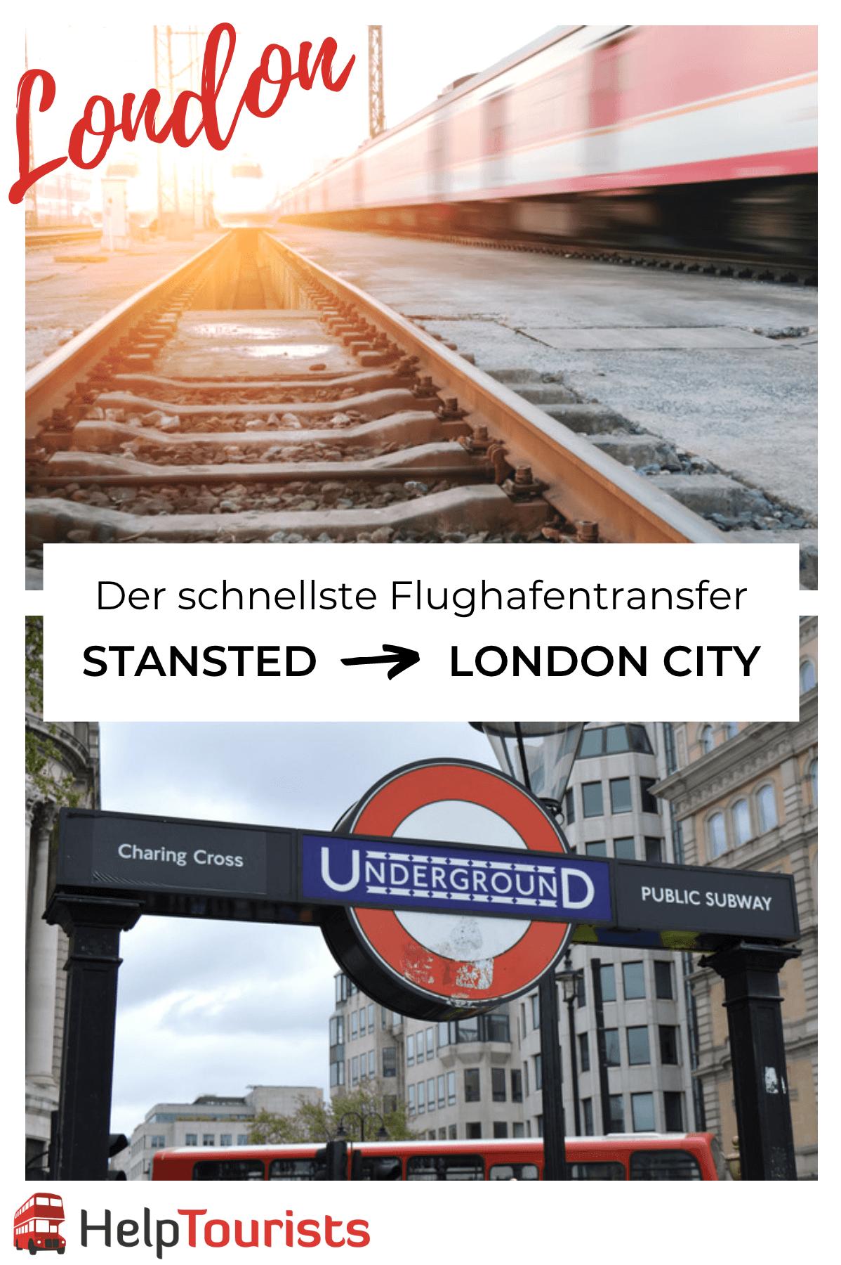 Flughafentransfer Stansted London