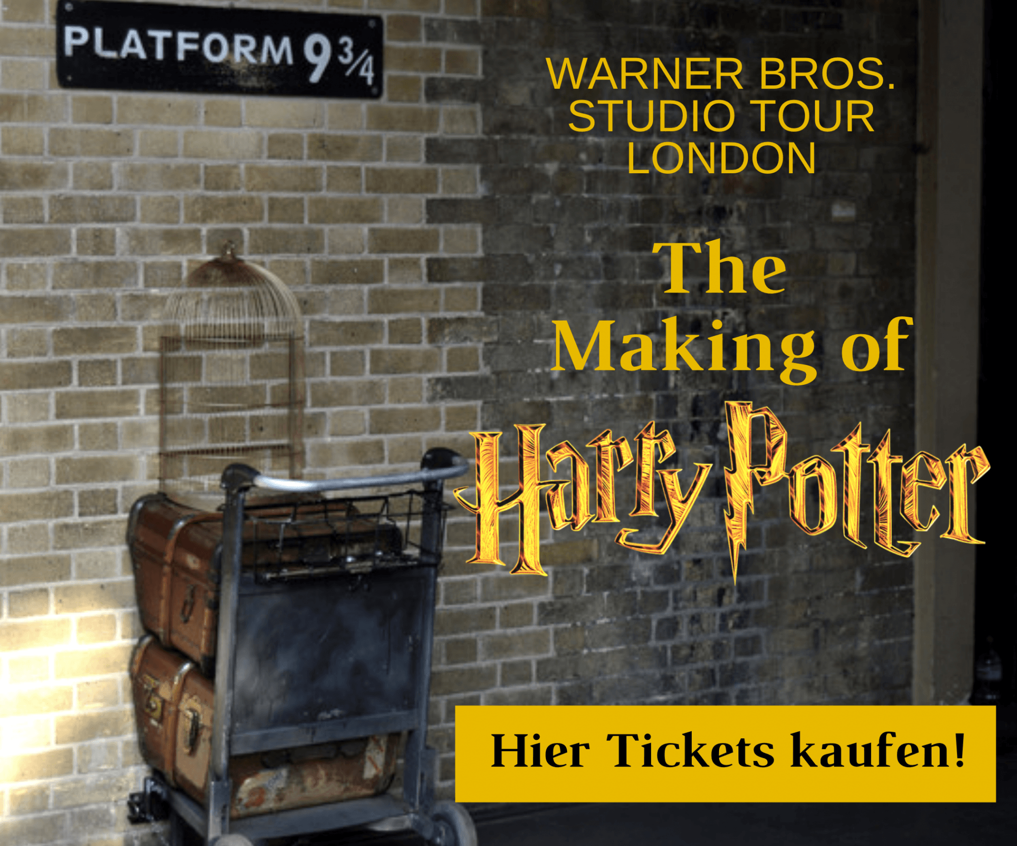Harry Potter Tickets Banner