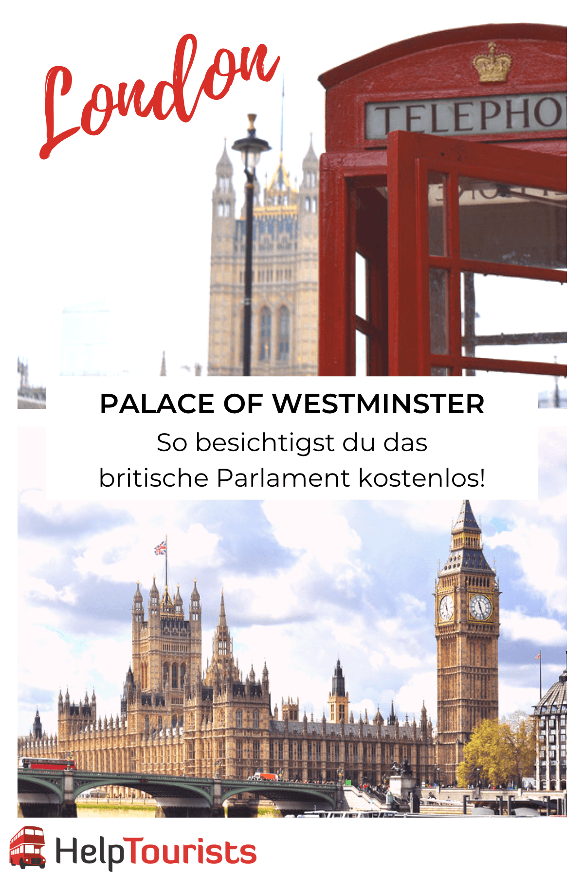 Palace of Westminster London besichtigen