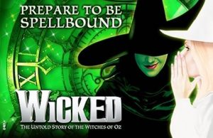 Wicked Musical London Tickets