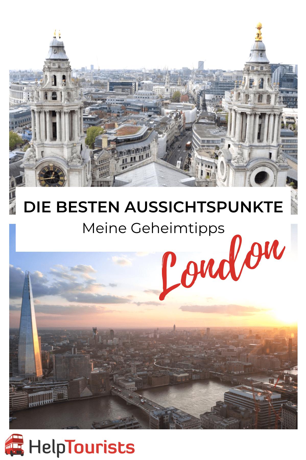 Die besten Aussichtspunkte London