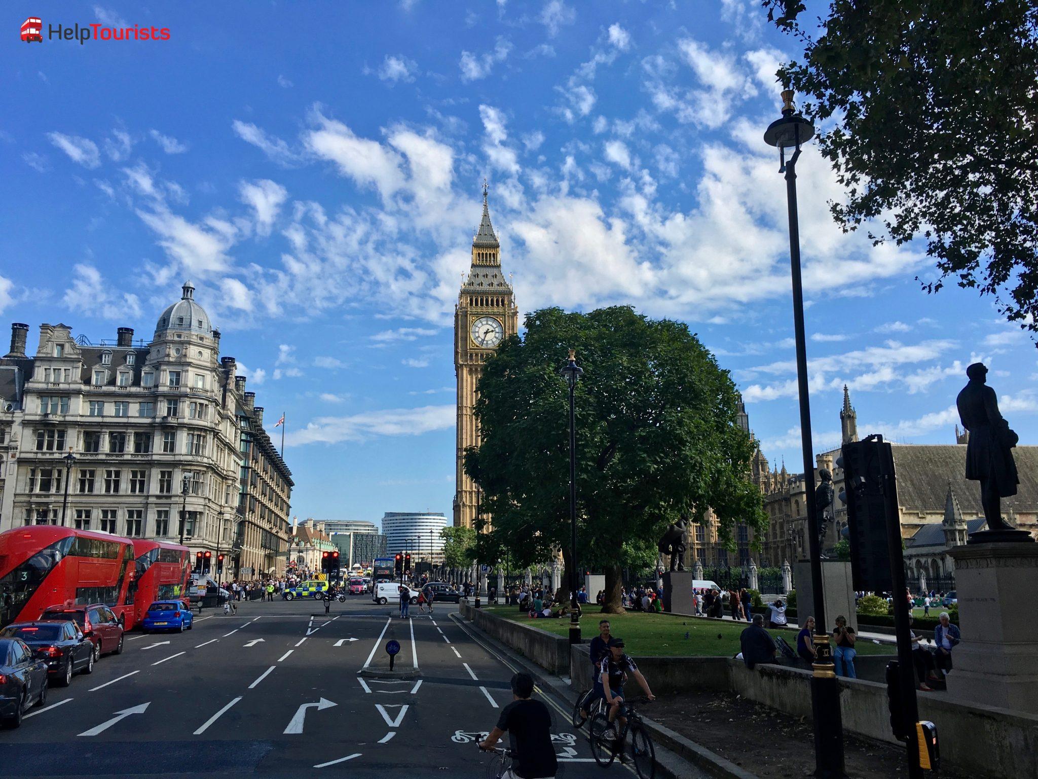 London Big Big Straße