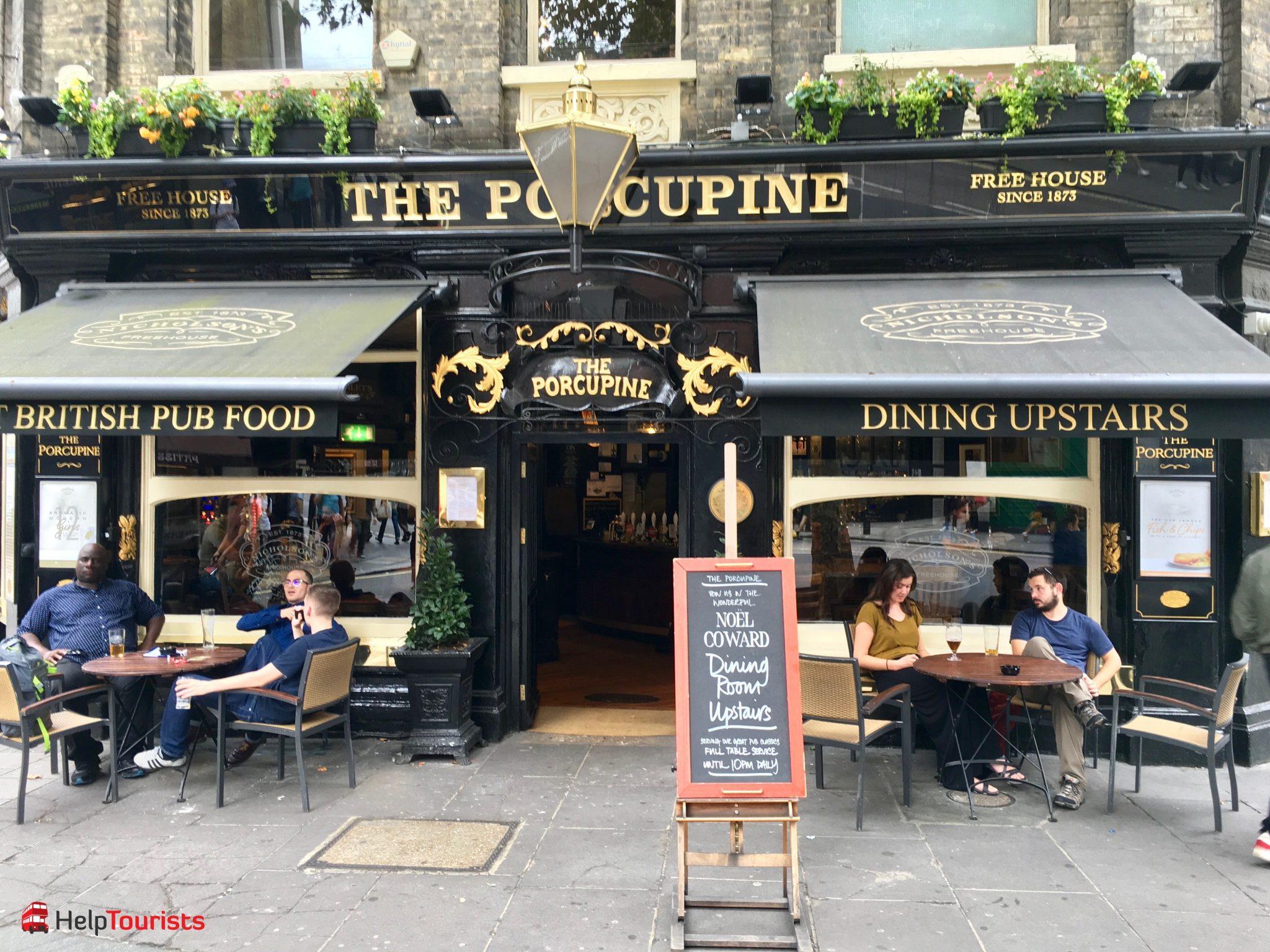 London Covent Garden Restaurant