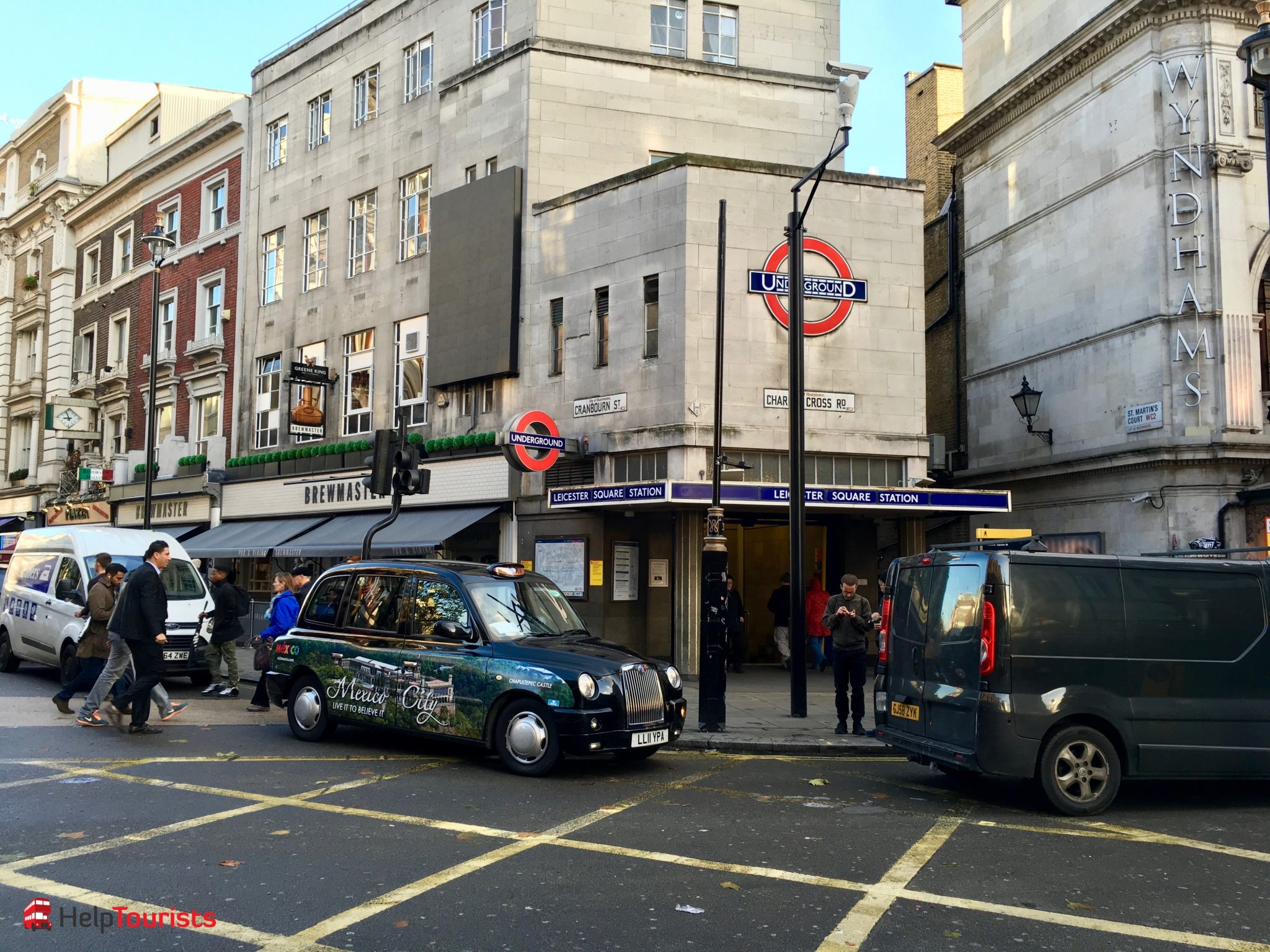London Covent Garden Underground