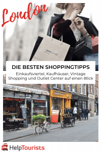 Shoppingtipps für London