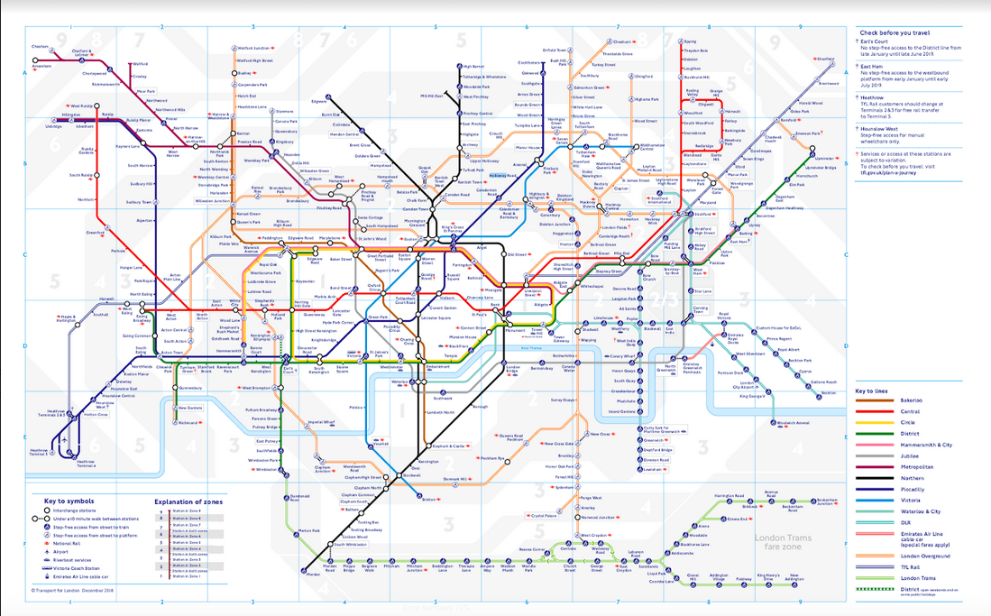U-Bahn Plan London
