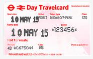 Travel Card London U-Bahn