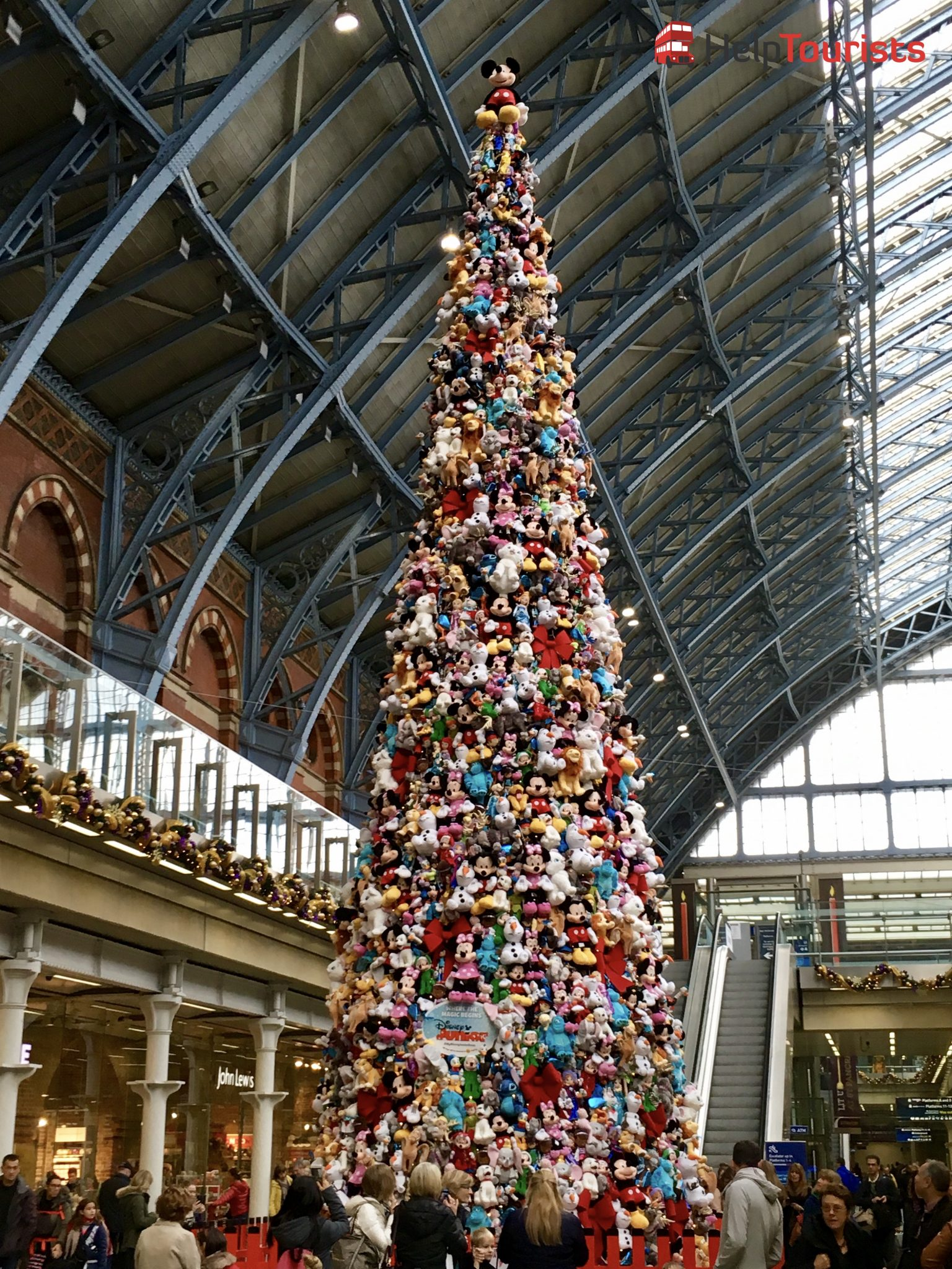 London Weihnachten Covent Garden